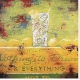 Nothing To Dream Stampa su tela di Rodney White