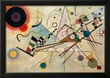 Composition VIII, 1923 Framed Giclee Print by Wassily Kandinsky