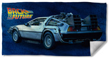 Back To The Future - Delorean Beach Towel Beach Towel