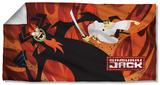 Samurai Jack - Epic Battle Beach Towel Beach Towel