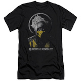 Mortal Kombat X - Scorpion Bust (slim fit) T-Shirt