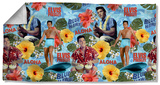 Elvis - Blue Hawaii Beach Towel Beach Towel