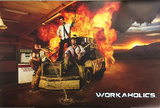 Workaholics - Gas Station Print