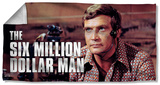 Six Million Dollar Man - Steve Austim Beach Towel Beach Towel