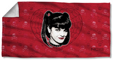 Ncis - Abby Heart Beach Towel Beach Towel
