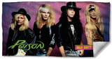 Poison - Talk Dirty Beach Towel Beach Towel