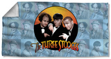 Three Stooges - Portraits Beach Towel Beach Towel