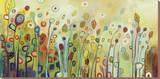 Inuti Sträckt Canvastryck av Jennifer Lommers