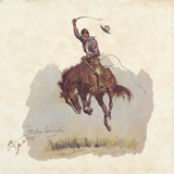 A Running Bucker Giclee Print by Frederic Sackrider Remington