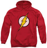 Hoodie: Justice League - Flash Logo Pullover Hoodie