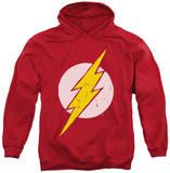 Hoodie: Justice League - Rough Flash Pullover Hoodie