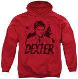 Hoodie: Dexter - Splatter Dex Pullover Hoodie