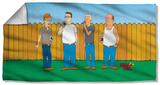 King Of The Hill - By The Fence Beach Towel Beach Towel