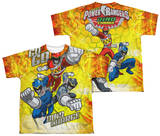 Youth: Power Rangers - Go Go Dino Charge (Front - Back Print) T-shirts