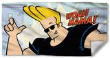 Johnny Bravo - Woah Mama Beach Towel Beach Towel