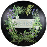 Herbal Infusion Dome Sign Tin Sign