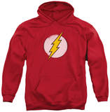 Hoodie: DC Comics - Rough Flash Logo Pullover Hoodie