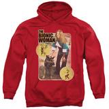 Hoodie: Bionic Woman - Jamie And Max Pullover Hoodie