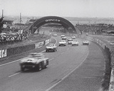 British Win Le Mans IV Reproduction procédé giclée par  British Pathe Collection