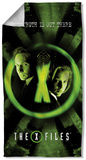 X Files - Trust No One Beach Towel Beach Towel