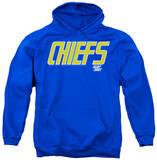 Hoodie: Slap Shot - Chiefs Logo Pullover Hoodie