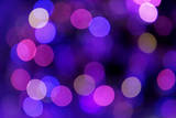 Festive Blue and Purple Background with Boke Photographic Print by ???????? ??????
