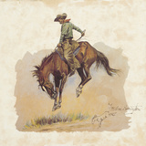 A 'Sun Fisher' Giclee Print by Frederic Sackrider Remington