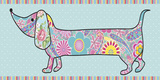 Paisley Pooch II Art by Linda Wood