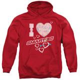 Hoodie: Smarties - I Heart Smarties Pullover Hoodie