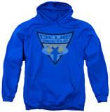 Hoodie: Batman - Blue Beetle Shield Pullover Hoodie