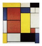 Composition II, 1920 Reproduction giclée Premium par Piet Mondrian