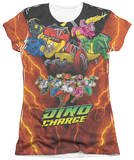 Juniors: Power Rangers - Zord Power T-Shirt