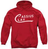 Hoodie: Muhammad Ali - Cassius Clay Logo Pullover Hoodie