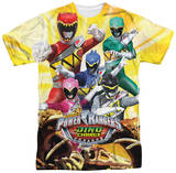 Power Rangers - Charged For Battle Shirt