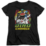 Womans: Power Rangers - Dino Lightning T-Shirt