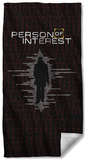 Person Of Interest - Numbers Beach Towel Beach Towel