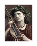 Music, Heavenly Maid Premium Giclee Print by Sir Edward John Poynter