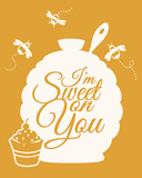 I'm Sweet On You Prints by Sasha Blake
