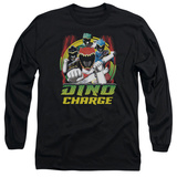 Long Sleeve: Power Rangers - Dino Lightning T-Shirt