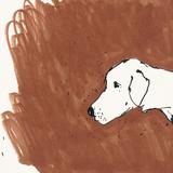 Boho Dogs VI Print by Clare Ormerod