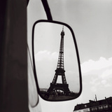 Paul Almasy - Eiffel Tower Reflection, c1960 Plakát