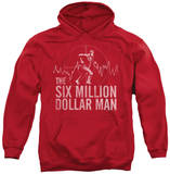 Hoodie: The Six Million Dollar Man - Target Pullover Hoodie