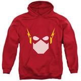 Hoodie: Justice League - Flash Head Pullover Hoodie