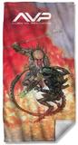 Alien Vs Predator - Brutal Battle Beach Towel Beach Towel