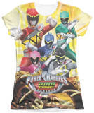Juniors: Power Rangers - Charged For Battle T-shirts