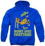 Hoodie: Garfield - Money Is Everything Pullover Hoodie