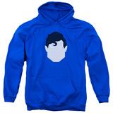 Hoodie: Superman - Supes Head Pullover Hoodie