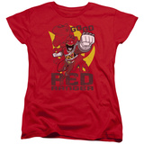 Womans: Power Rangers - Go Red T-shirts