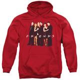 Hoodie: Friends - Cast In Black Pullover Hoodie