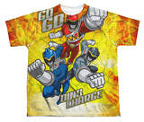 Youth: Power Rangers - Go Go Dino Charge Shirts